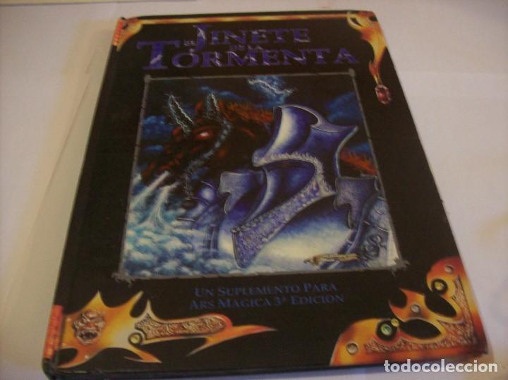 Juegos Antiguos: EL JINETE DE LA TORMENTA UN SUPLEMENTO PARA ARSMAGICA 3ª EDICION - Foto 2 - 171633718