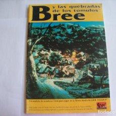 Juegos Antiguos: EL SEÑOR DE LOS ANILLOS-BREE Y LAS QUEBRADAS DE LOS TUMULOS. Lote 171643102