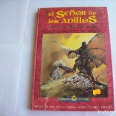 Juegos Antiguos: EL SEÑOR DE LOS ANILLOS-JUEGO DE AVENTURAS BÁSICO. Lote 171643202
