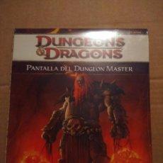 Juegos Antiguos: LIBRO DUNGEONS & DRAGONS : PANTALLA DEL DUNGEON MASTER . Lote 171675420