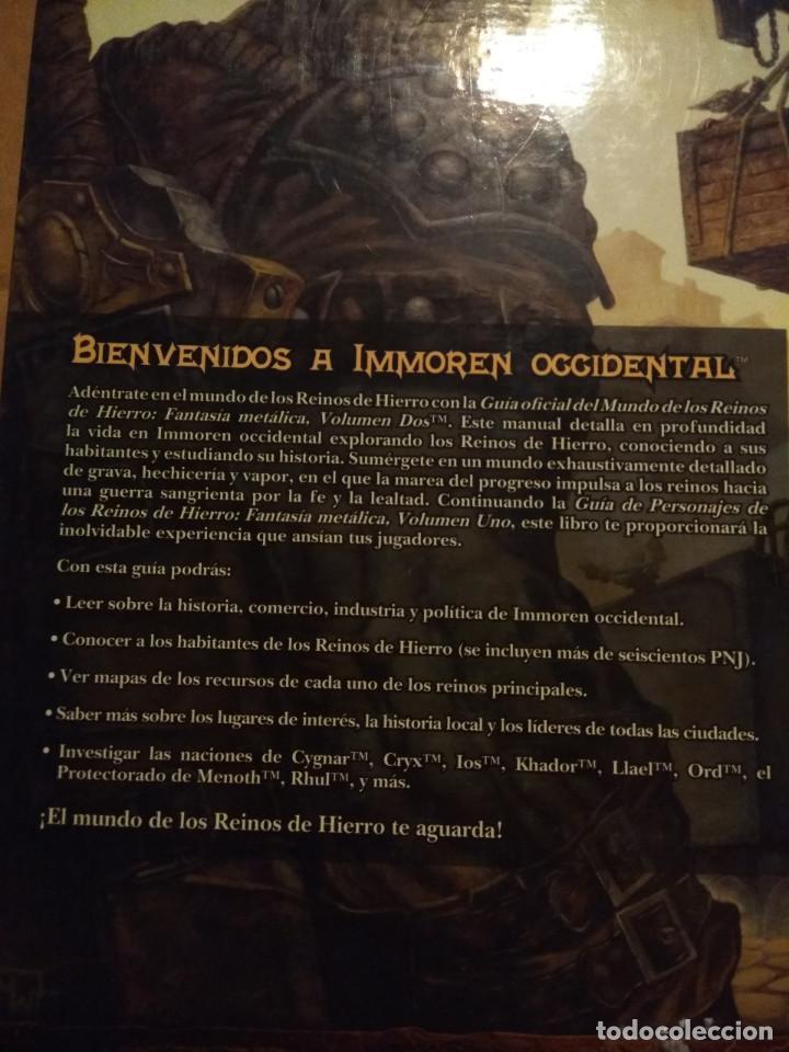 Juegos Antiguos: LIBRO REINOS DE HIERRO ( GUIA DEL MUNDO ) FULL METAL FANTASY, VOLUMEN 2 - Foto 3 - 171676057
