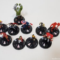 Juegos Antiguos: LOTE 10 HEROCLIX / MARVEL / WIZKIDS 2018. Lote 171738550