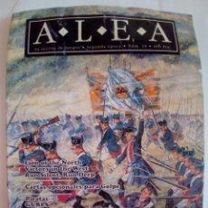 Juegos Antiguos: REVISTA ALEA Nº 19. Lote 171775995