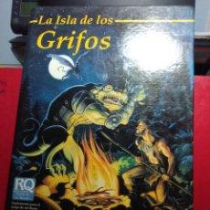 Juegos Antiguos: LA ISLA DE LOS GRIFOS ( LIBRO SUPLEMENTO PARA RUNEQUEST ). Lote 171997230