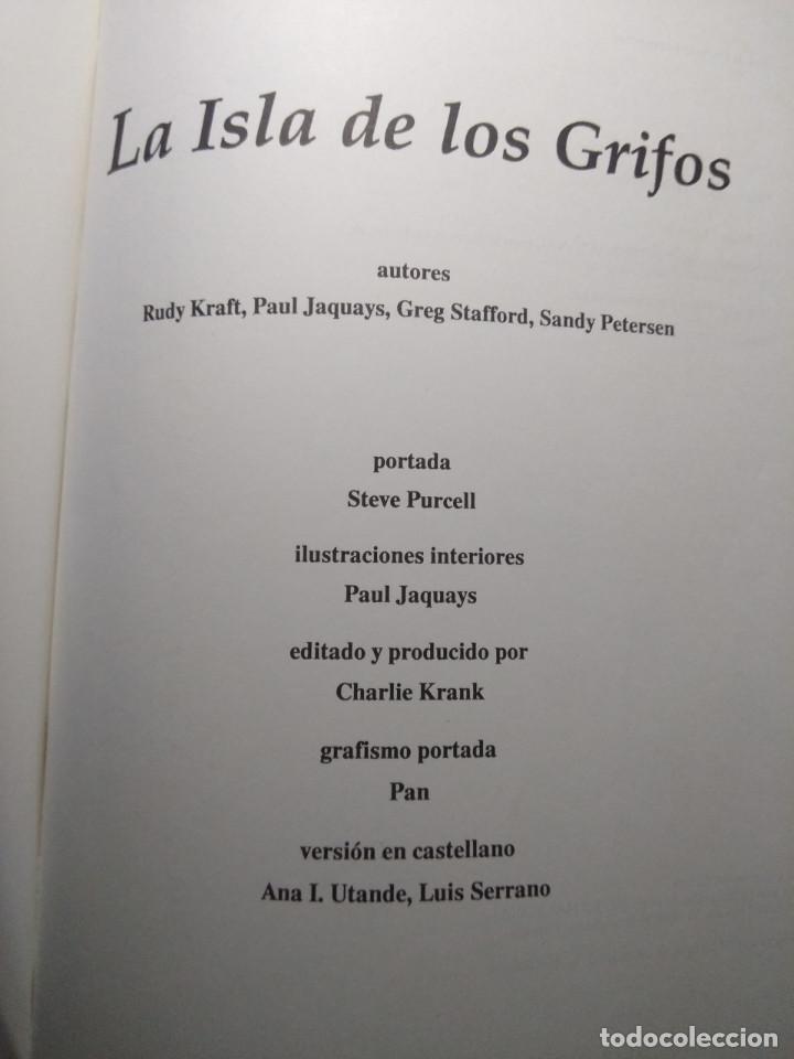 Juegos Antiguos: LA ISLA DE LOS GRIFOS ( LIBRO SUPLEMENTO PARA RUNEQUEST ) - Foto 2 - 171997230