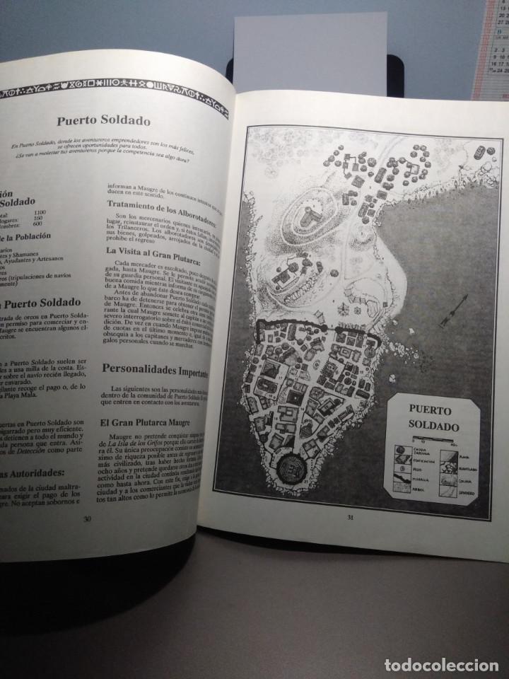 Juegos Antiguos: LA ISLA DE LOS GRIFOS ( LIBRO SUPLEMENTO PARA RUNEQUEST ) - Foto 3 - 171997230