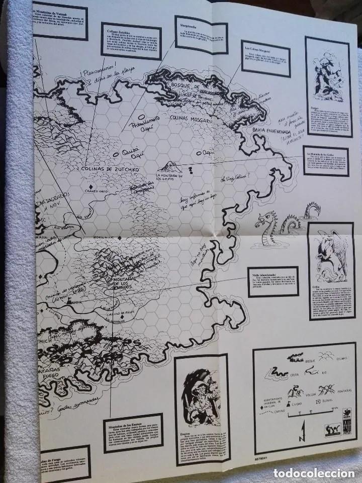 Juegos Antiguos: LA ISLA DE LOS GRIFOS ( LIBRO SUPLEMENTO PARA RUNEQUEST ) - Foto 4 - 171997230