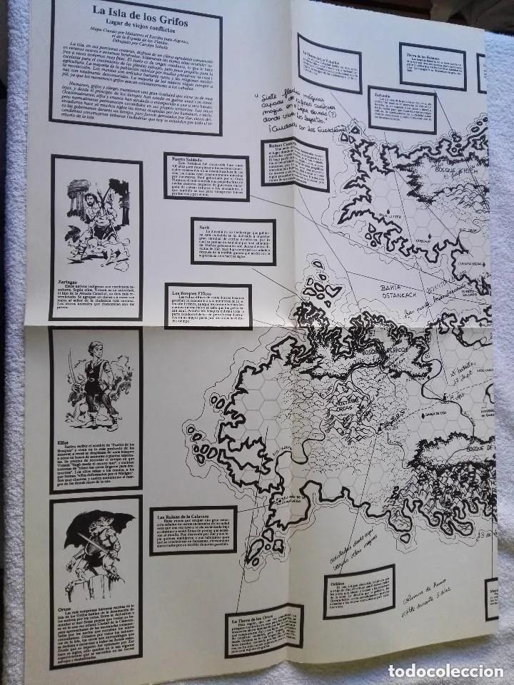 Juegos Antiguos: LA ISLA DE LOS GRIFOS ( LIBRO SUPLEMENTO PARA RUNEQUEST ) - Foto 5 - 171997230