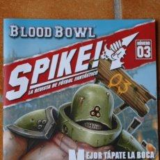 Juegos Antiguos: SPIKE! NÚM. 3, PUTREFACTOS DE NURGLE. LA REVISTA DE BLOOD BOWL. Lote 172027838