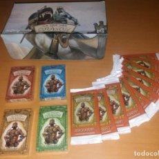 Juegos Antiguos: LOTE LA IRA DEL DRAGÓN COMPLETO 4 BARAJAS PRECINTADAS,SOBRES Y EL DIFÍCIL EXPOSITOR. Lote 172109255