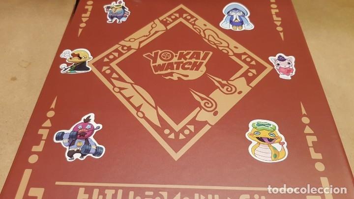 Juegos Antiguos: YO-KAI WATCH / HASBRO / ÁLBUM-TABLERO Y 39 MEDALLAS / BUEN ESTADO / OCASIÓN ! - Foto 3 - 182353808