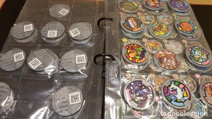 Juegos Antiguos: YO-KAI WATCH / HASBRO / ÁLBUM-TABLERO Y 39 MEDALLAS / BUEN ESTADO / OCASIÓN ! - Foto 5 - 182353808