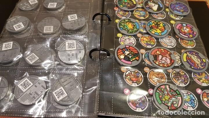 Juegos Antiguos: YO-KAI WATCH / HASBRO / ÁLBUM-TABLERO Y 39 MEDALLAS / BUEN ESTADO / OCASIÓN ! - Foto 6 - 182353808
