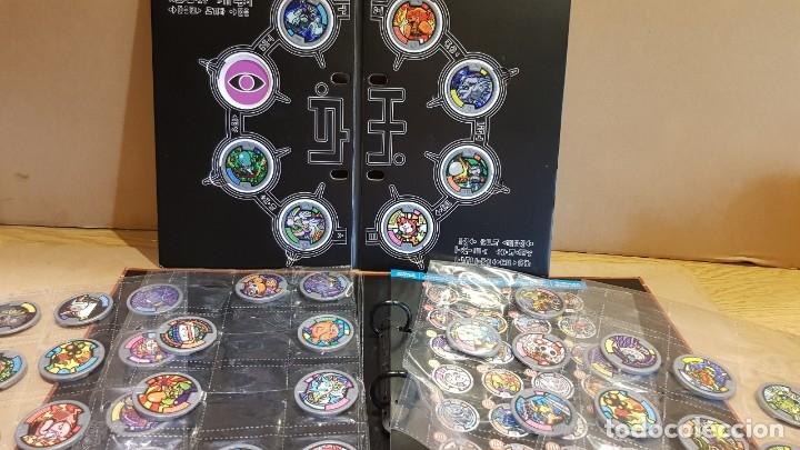 Juegos Antiguos: YO-KAI WATCH / HASBRO / ÁLBUM-TABLERO Y 39 MEDALLAS / BUEN ESTADO / OCASIÓN ! - Foto 8 - 182353808