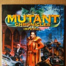 Juegos Antiguos: MUTANT CHRONICLES: IMPERIAL. LOS CLANES DE LA PERDICIÓN. M+D / TARGET GAMES, 1999. 88 PÁGINAS.. Lote 172268340