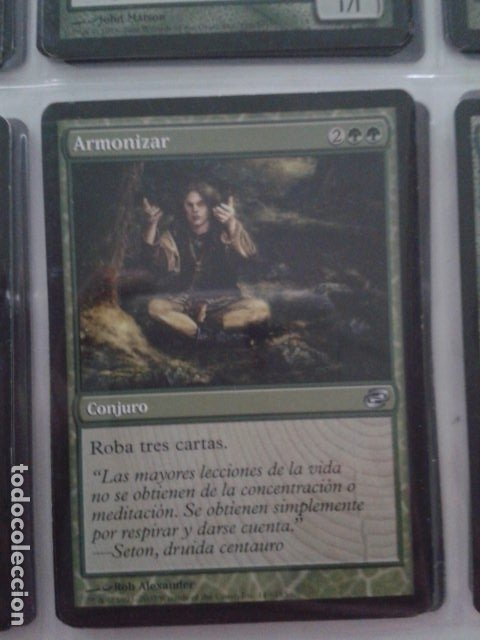 ARMONIZAR. MAGIC THE GATHERING. MTG (Juguetes - Rol y Estrategia - Otros)