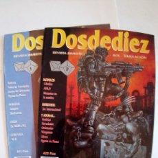 Juegos Antiguos: LOTE DE REVISTAS DOSDEDIEZ Nº 1 Y 2. Lote 172363458