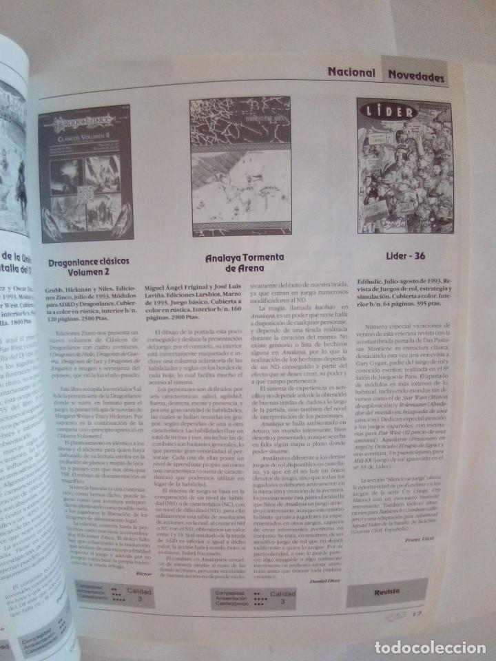 Juegos Antiguos: LOTE DE REVISTAS DOSDEDIEZ Nº 1 Y 2 - Foto 5 - 172363458