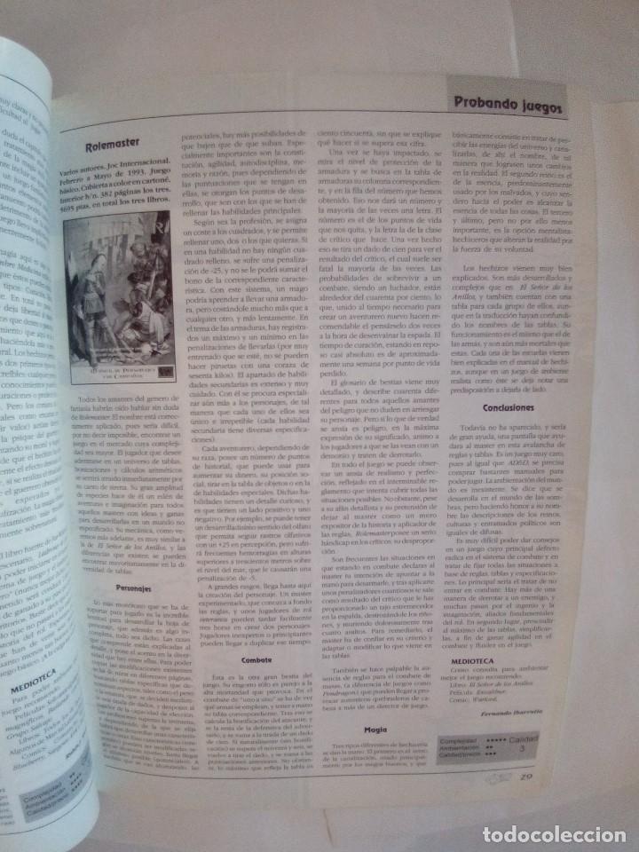 Juegos Antiguos: LOTE DE REVISTAS DOSDEDIEZ Nº 1 Y 2 - Foto 9 - 172363458