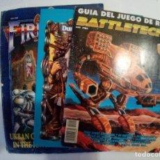 Juegos Antiguos: LOTE DE 3 GUIAS DE JUEGOS DE ROL VER FOTOS. Lote 172383675
