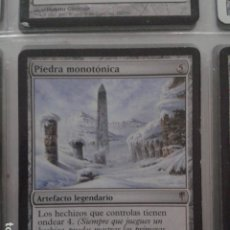 Juegos Antiguos: PIEDRA MONOTÓNICA. MAGIC THE GATHERING. MTG.. Lote 172422017