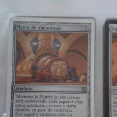 Juegos Antiguos: MATRIZ DE ALMACENAJE. MAGIC THE GATHERING. MTG.. Lote 172422700