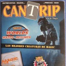 Jogos Antigos: REVISTA N°28 MAGIC CANTRIP WORLDS LAS MEJORES CRIATURAS. Lote 172473530