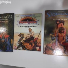 Juegos Antiguos: LOTE 3 LIBROS DE ROL (2 STORMBRINGER Y 1 DARK SUN D&D). Lote 172588213