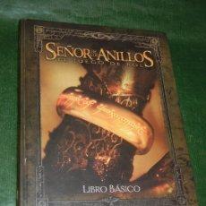 Juegos Antiguos: EL SEÑOR DE LOS ANILLOS. EL JUEGO DE ROL. LIBRO BASICO - 2002. Lote 172834022
