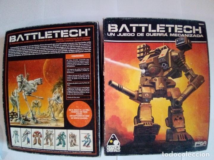 Juegos Antiguos: BATTLETECH-UN JUEGO DE GUERRA MECANIZADA-EDICION 1000-FASA-COMPLETO - Foto 3 - 172838428