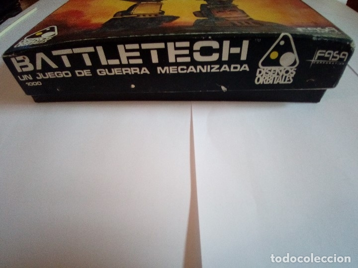 Juegos Antiguos: BATTLETECH-UN JUEGO DE GUERRA MECANIZADA-EDICION 1000-FASA-COMPLETO - Foto 5 - 172838428