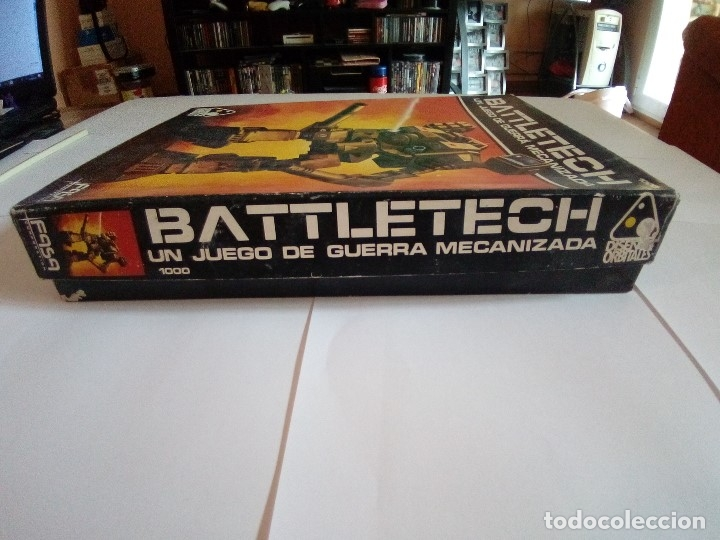 Juegos Antiguos: BATTLETECH-UN JUEGO DE GUERRA MECANIZADA-EDICION 1000-FASA-COMPLETO - Foto 6 - 172838428