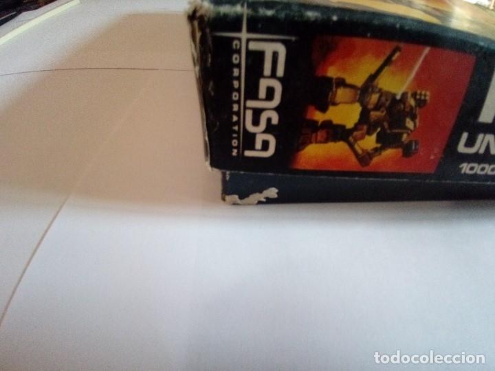 Juegos Antiguos: BATTLETECH-UN JUEGO DE GUERRA MECANIZADA-EDICION 1000-FASA-COMPLETO - Foto 8 - 172838428