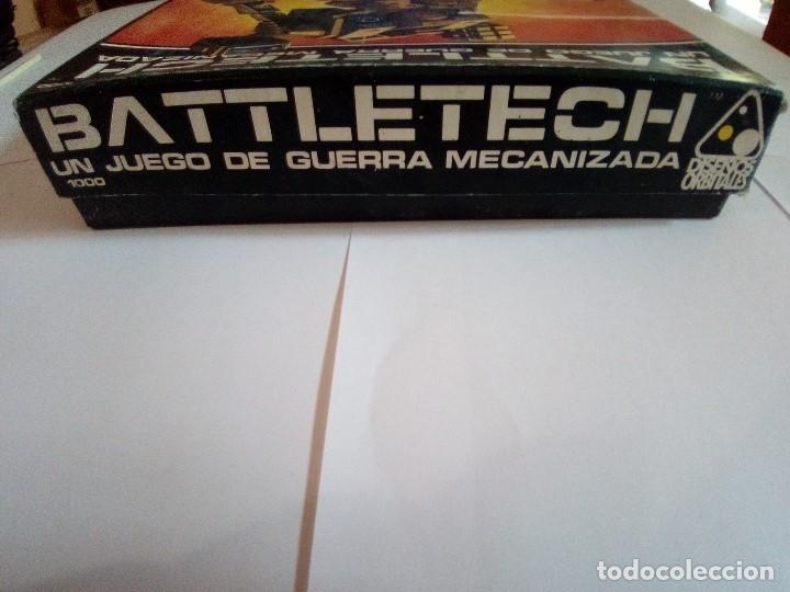 Juegos Antiguos: BATTLETECH-UN JUEGO DE GUERRA MECANIZADA-EDICION 1000-FASA-COMPLETO - Foto 9 - 172838428