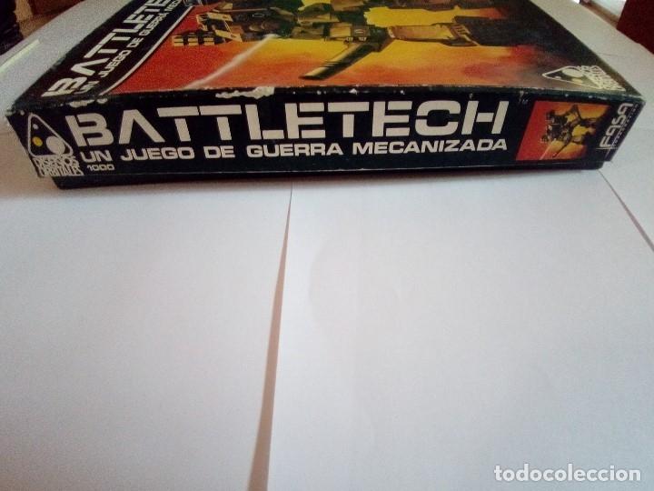 Juegos Antiguos: BATTLETECH-UN JUEGO DE GUERRA MECANIZADA-EDICION 1000-FASA-COMPLETO - Foto 10 - 172838428