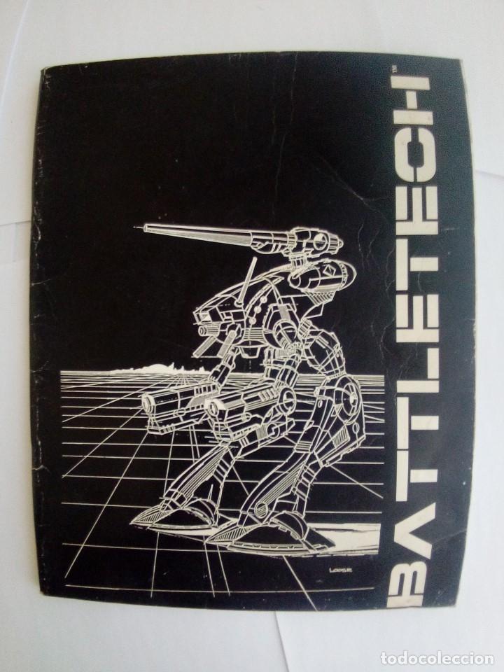 Juegos Antiguos: BATTLETECH-UN JUEGO DE GUERRA MECANIZADA-EDICION 1000-FASA-COMPLETO - Foto 17 - 172838428