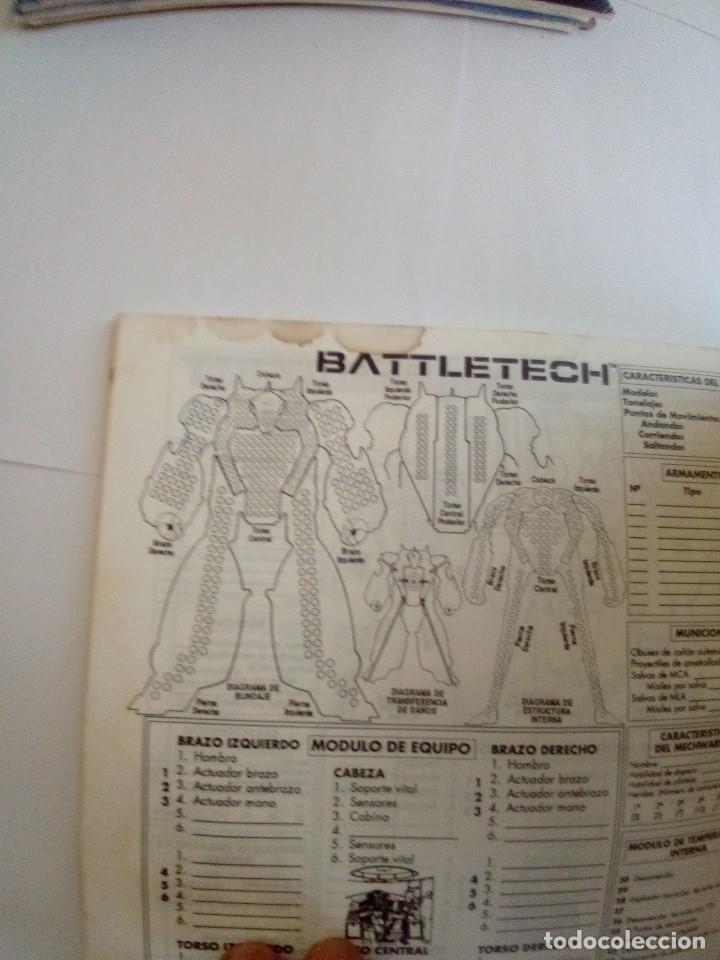 Juegos Antiguos: BATTLETECH-UN JUEGO DE GUERRA MECANIZADA-EDICION 1000-FASA-COMPLETO - Foto 20 - 172838428