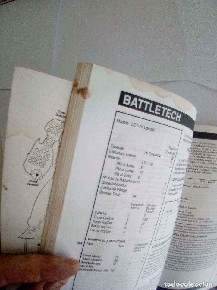 Juegos Antiguos: BATTLETECH-UN JUEGO DE GUERRA MECANIZADA-EDICION 1000-FASA-COMPLETO - Foto 22 - 172838428