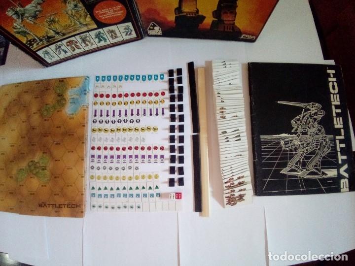Juegos Antiguos: BATTLETECH-UN JUEGO DE GUERRA MECANIZADA-EDICION 1000-FASA-COMPLETO - Foto 31 - 172838428