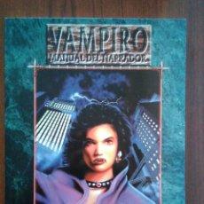 Giochi Antichi: VAMPIRO MANUAL DEL NARRADOR - UNA GUÍA PARA VAMPIRO LA MASCARADA - MUNDO DE TINIEBLAS - JUEGO DE ROL. Lote 172902887