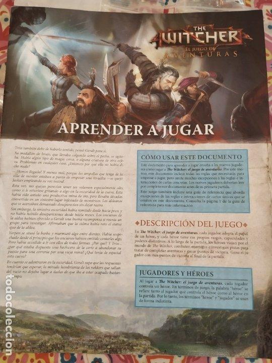 Juegos Antiguos: THE WITCHER - EL JUEGO DE AVENTURAS - EDGE - - Foto 13 - 172946793