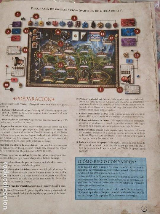 Juegos Antiguos: THE WITCHER - EL JUEGO DE AVENTURAS - EDGE - - Foto 14 - 172946793