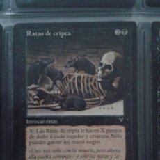 Jeux Anciens: RATAS DE LA CRIPTA. MAGIC THE GATHERING. MTG.. Lote 172954252
