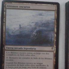 Jeux Anciens: ABISMOS OSCUROS. MAGIC THE GATHERING. MTG.. Lote 172955224