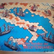Juegos Antiguos: LA GRANDES BATALLAS DEL MEDITERRANEO-COMPLETO. Lote 172969525