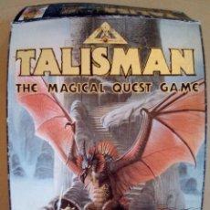 Jogos Antigos: TALISMAN THE MAGICAL QUEST GAME-COMLETO+FIGURA EXTRA VER FOTOS. Lote 172969658