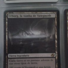 Juegos Antiguos: URBORG, LA TUMBA DE YAWGMOTH. MAGIC THE GATHERING. MTG.. Lote 173092439