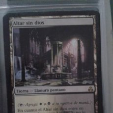 Juegos Antiguos: ALTAR SIN DIOS. MAGIC THE GATHERING. MTG.. Lote 173092522