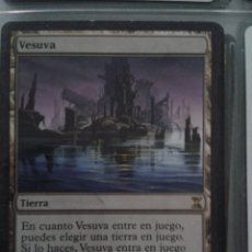 Juegos Antiguos: VESUVA. MAGIC THE GATHERING. MTG.. Lote 173092719