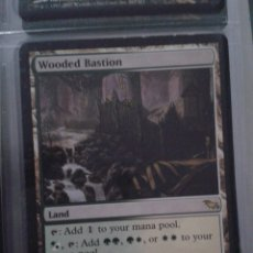 Juegos Antiguos: WOODED BASTION. MAGIC THE GATHERING. MTG. BASTION ARBOLADO. Lote 173093112